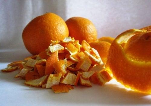Cáscara de naranja para el dolor en el cuello