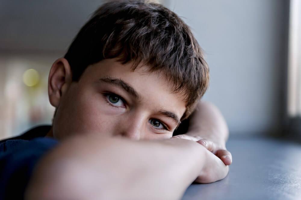 Señales de depresión en un niño.