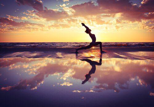 yoga. Saludos al sol