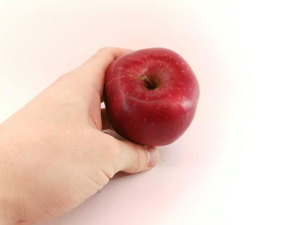 Manzana para recuperar la energía