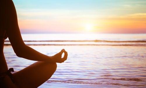 Meditar antes de acostarse