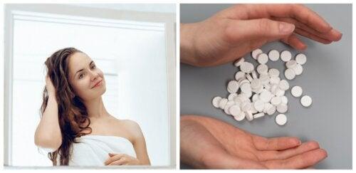 Aspirina para el cabello: beneficios y tratamiento