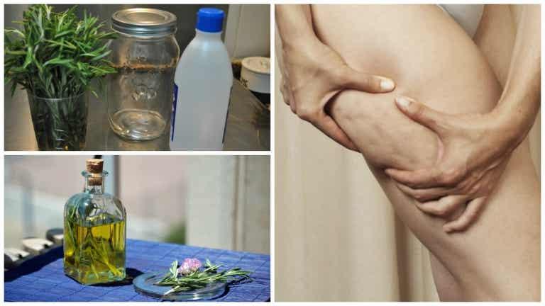 Aprende a preparar alcohol de romero casero para combatir la celulitis
