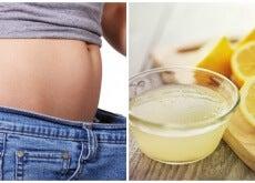 Cómo combatir el sobrepeso con limón