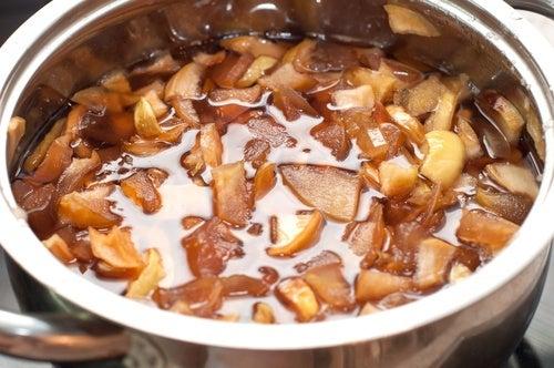 Cómo preparar pectina casera