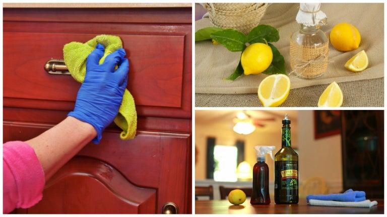 Cómo remover el polvo de los muebles con un limpiador casero