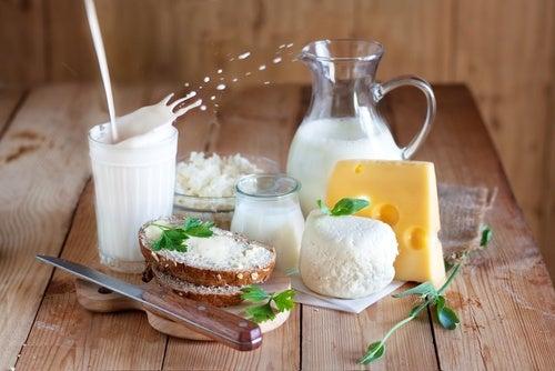 Consumir lácteos