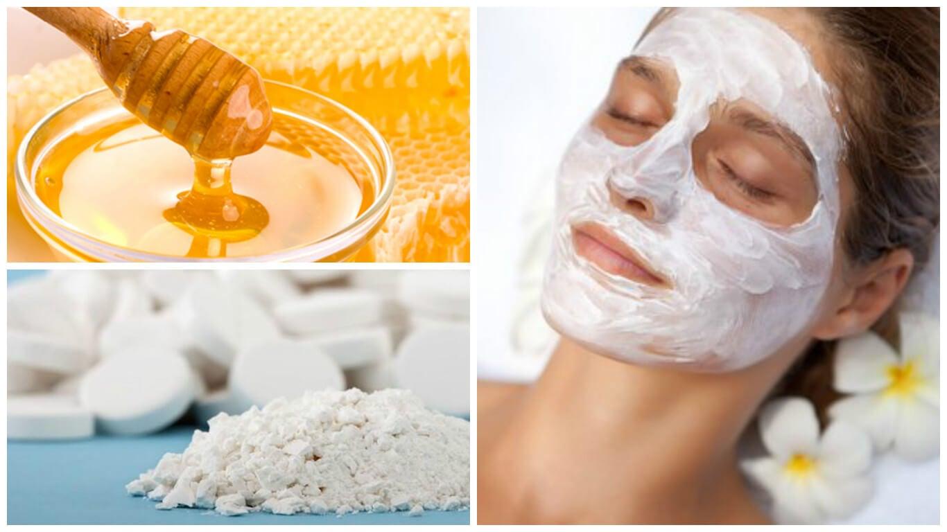Descubre lo que ocurre en tu rostro cuando le aplicas una mezcla de miel y aspirina