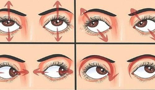 7 ejercicios para los ojos que tienes que hacer diariamente