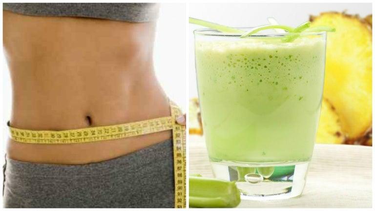 Elimina grasa, desinflama el vientre y limpia el colon con este batido natural