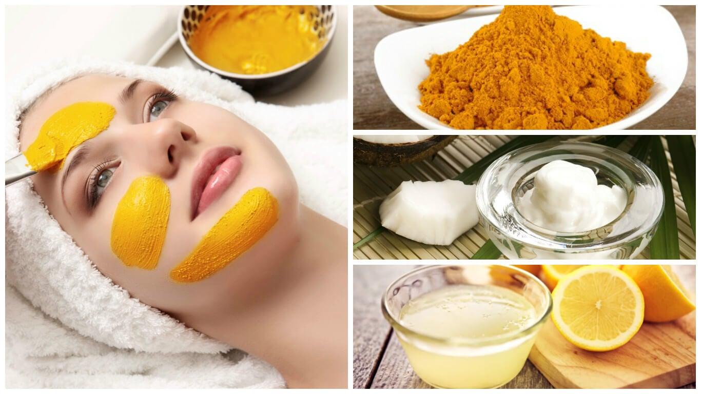 Revitaliza tu piel con esta mascarilla de cúrcuma, aceite de coco y limón