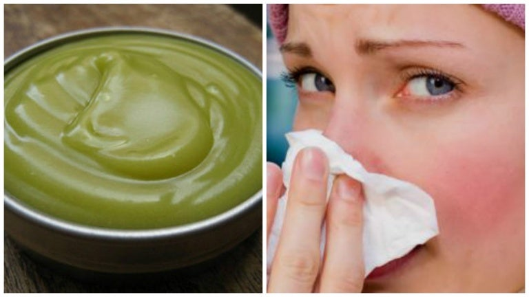 Prepara un ungüento natural para descongestionar las vías respiratorias