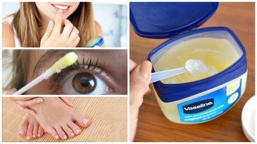 12 usos cosméticos de la vaselina