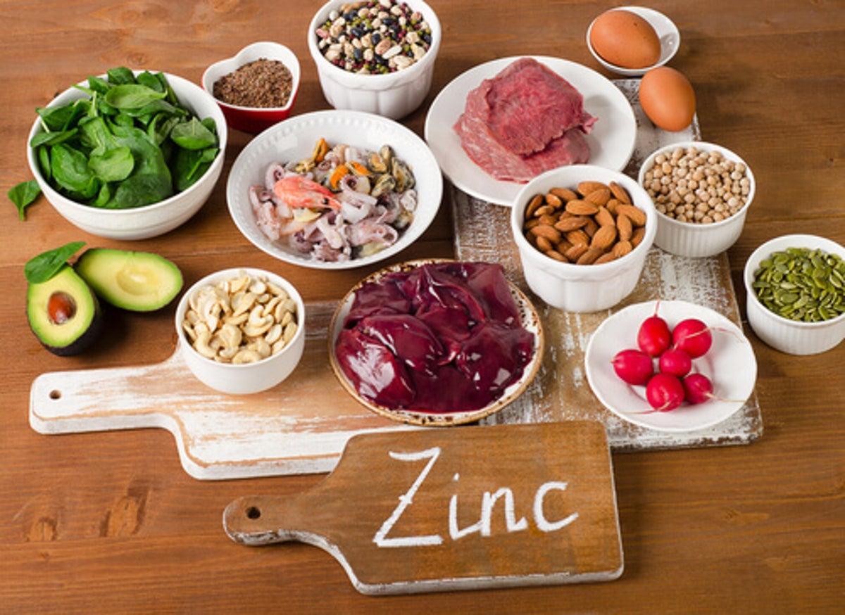 zinc es bueno para bajar de peso