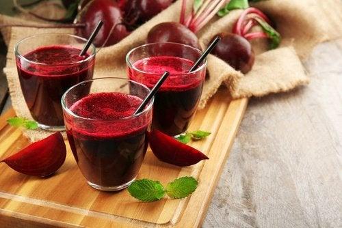 Curar el hígado y depurar la sangre con remolacha (betabel)