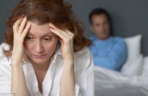 cambios de humor. cerebro durante la menopausia