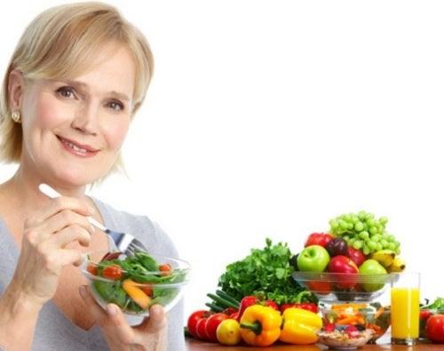Hábitos alimenticios a los 50 años
