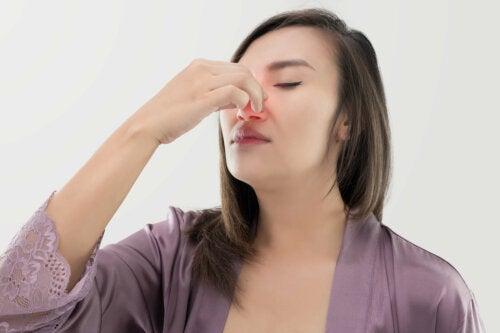 Combina estos dos ingredientes y alivia la sinusitis