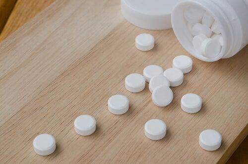 1. Mascarilla de aspirina y limón