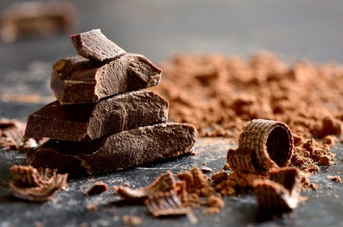3. Chocolate oscuro