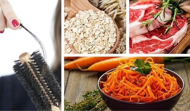 9 alimentos para detener y evitar la pérdida del cabello