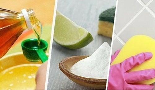 Cómo limpiar las juntas de los azulejos con remedios naturales
