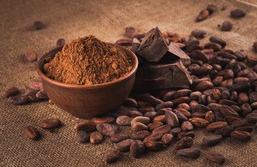 Frutas y semillas para la salud: cacao