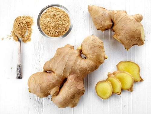 Ginger abdominal fat