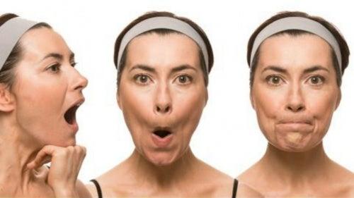 Ejercicios para adelgazar y tonificar el rostro