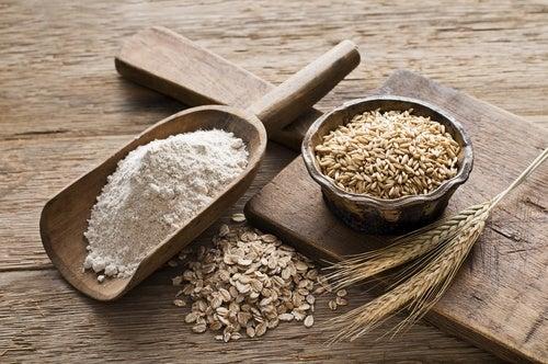 Los cereales integrales son una buena opción a la hora de abandonar el tabaco