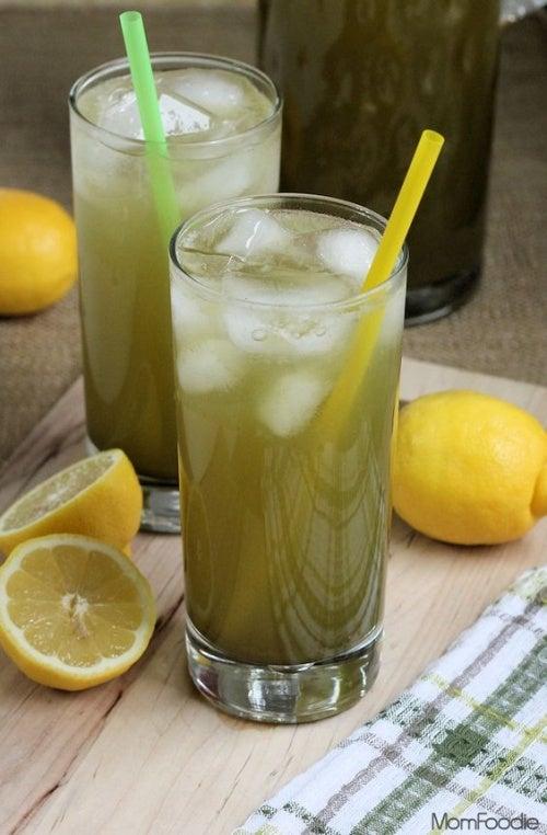 Limonada de té verde.