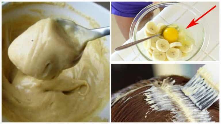 Mezcla de banana y cerveza para lucir un cabello fabuloso desde la primera semana