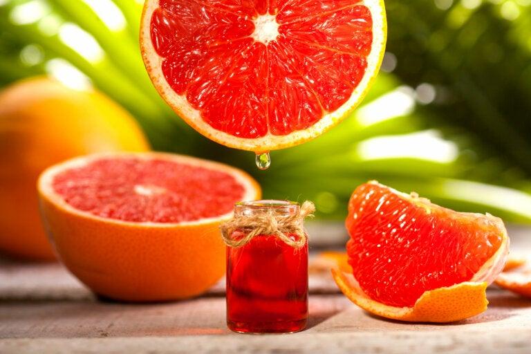 Depuración de un mes con aceite esencial de pomelo