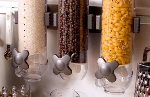 dispensadores de comida con medidor
