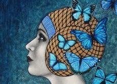 mujer-con-mariposas
