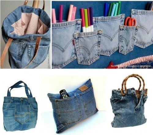 Resultado de imagen para Aprende Como Reciclar Un Pantalón Jeans