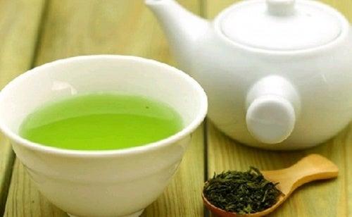 Diferentes formas de tomar té verde