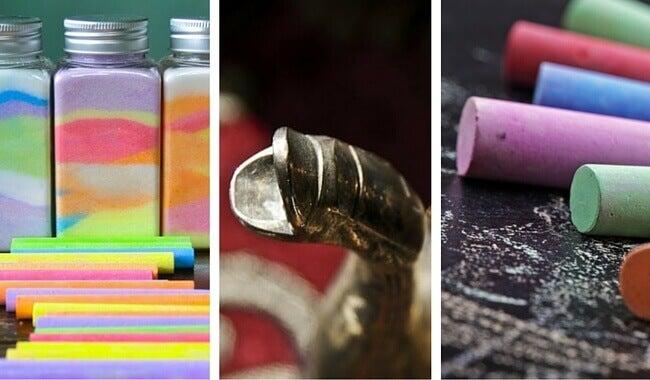 12 increíbles usos que le puedes dar a la tiza en tu hogar