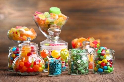 Caramelos para el dolor de garganta