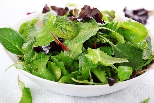 Ensaladas de vegetales