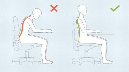 Mejorar la postura