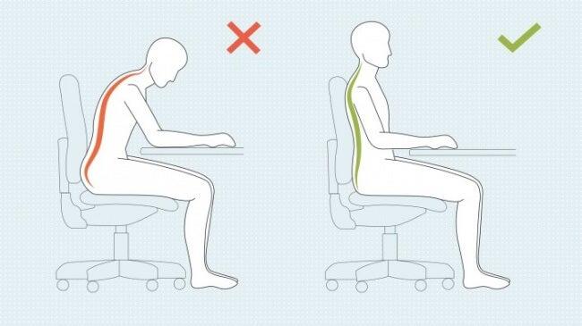 Mira qué sucede con tu cuerpo si mejoras la postura