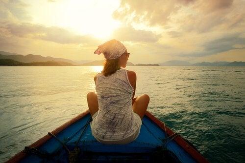 Abrirse al mundo externo: viajar