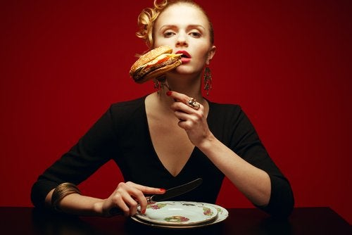 comer deprisa