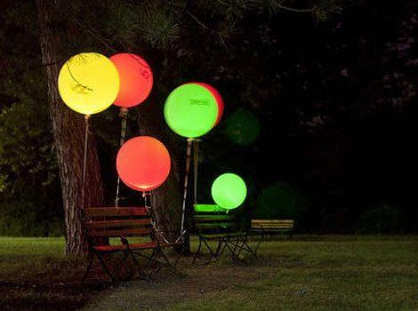 Cómo hacer tus propios globos luminosos