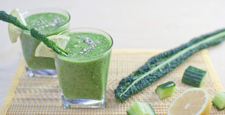 Jugo de verduras para prevenir las migrañas