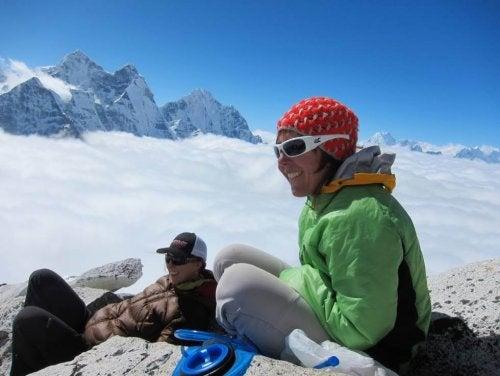 La médica española que trabaja en el Everest