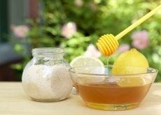 miel, azúcar y limón