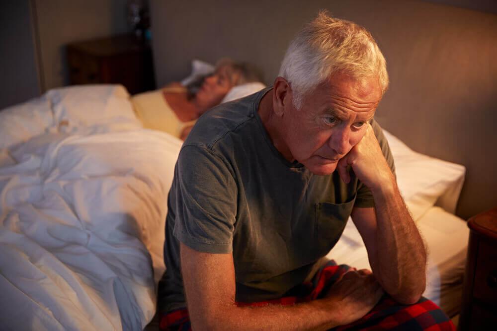 Problemas para dormir después de los 50 años