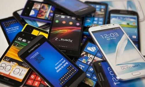 Uso de teléfonos celulares por los niños